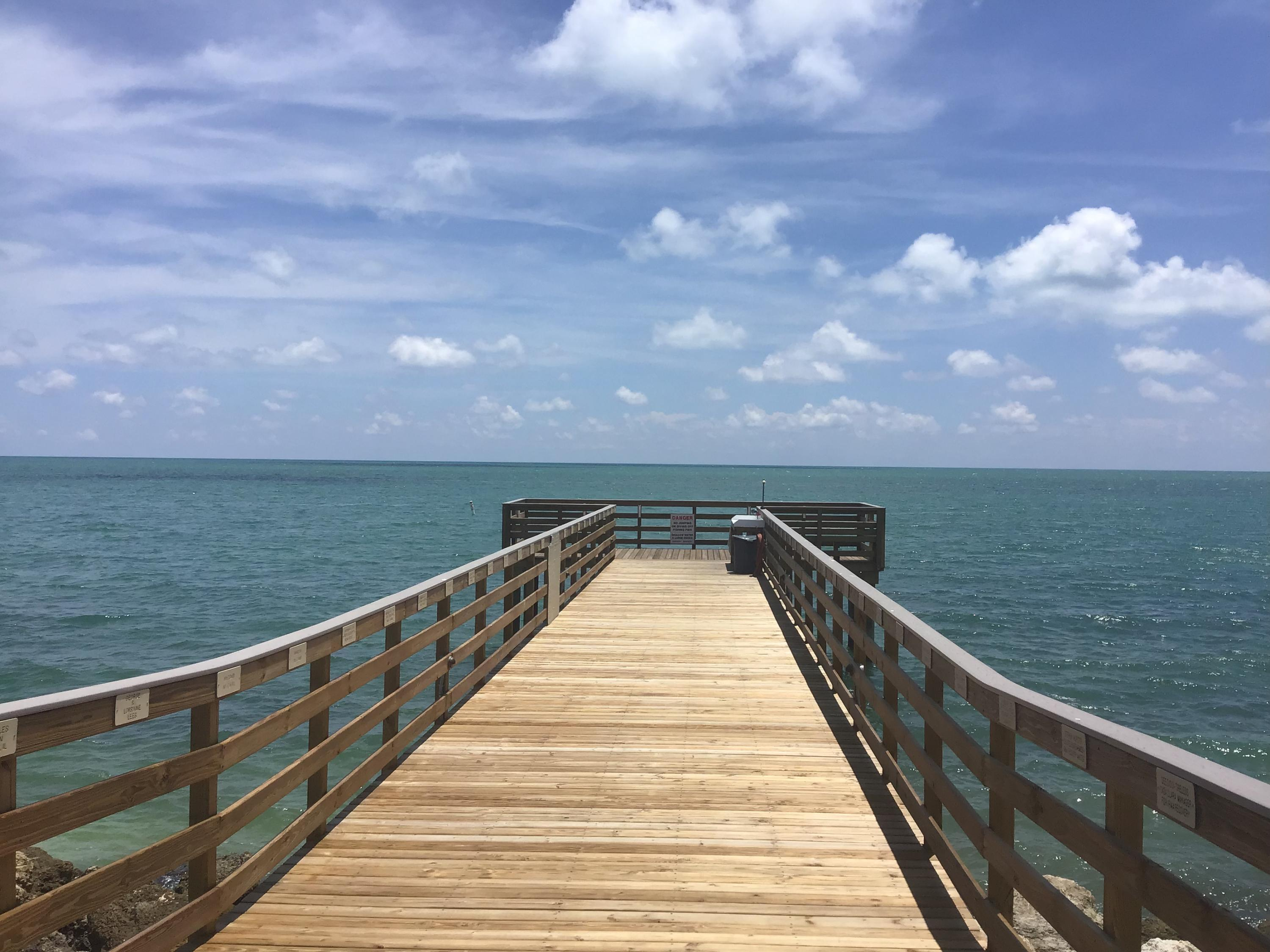 Brand NEW fishing pier!