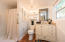 Guest house full bath with walk-in shower