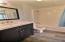 New designer basin and cabinet.