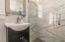 Upper-level en suite bath