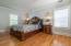 Upper-level en suite master bedroom