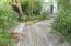 Wood walkey - left sde of house