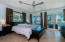 Master Suite with balcony and Open ocean views