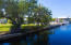 Approximately 181 ft. of canal frontage.