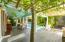 Large decked yard