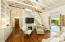 Santos Mahogany hardwood floors throughout entryway