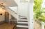 Custom built stair case
