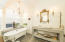 Master bathroom (#2) has cathedral ceiling, large alcove