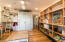 Corner bedroom( #2) has sustainable bamboo flooring, built-in storage and cabinets.