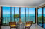 Unobstructed views from the living area and the master bedroom