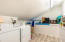 Bright and spacious laundry room