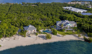 Beautiful estate with 450' of sandy beach