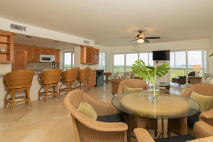 You'll be close to everything, but feel 'worlds away' in this gorgeous one-level top-floor condo right in the heart of Islamorada! Enjoy nightly sunsets and expansive views from practically every room. The condo is beautifully updated and is freshly painted throughout. Smooth ceilings and impact resistant windows. Travertine floors in the living areas extend out to the huge screened lanai overlooking the pool, mangroves and water. Sandpebbles is a small, private complex - only 16 units. It's one of the only pet friendly condominiums in Islamorada! There's storage onsite for boats and trailers and it's very close to Islamorada Marina where you can dry dock your boat. You'll save hundreds of thousands over similar condos with onsite dockage. Excellent vacation rental 30 day min. See videos!