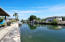 Clear canal with easy access to open water