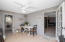 Extra dining areas and laundry room