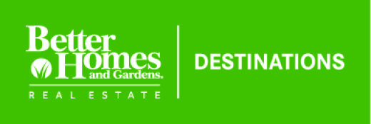 Better Homes and Gardens Real Estate Destinations logo