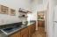 Kitchenette in pavilion apartment