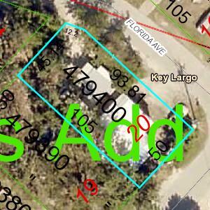 296  Tavernier Street  For Sale, MLS 596583