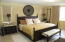 One of many gracious bedrooms