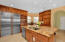 Incredible kitchen space for all the chefs in your party