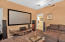 Theater room or bedroom