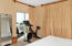 Bedroom converted to work out room