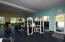 First class work out facility and wet area in club house.