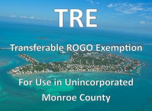 1  Transferable ROGO Exemption   For Sale, MLS 596951