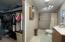 Master bath / walk in closet