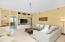 Spacious and gracious living area in Bay Harbour 316. approx 2026 sq ft