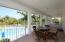 Clubhouse balcony overlooking pool