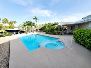 Fiberglass pool and spa