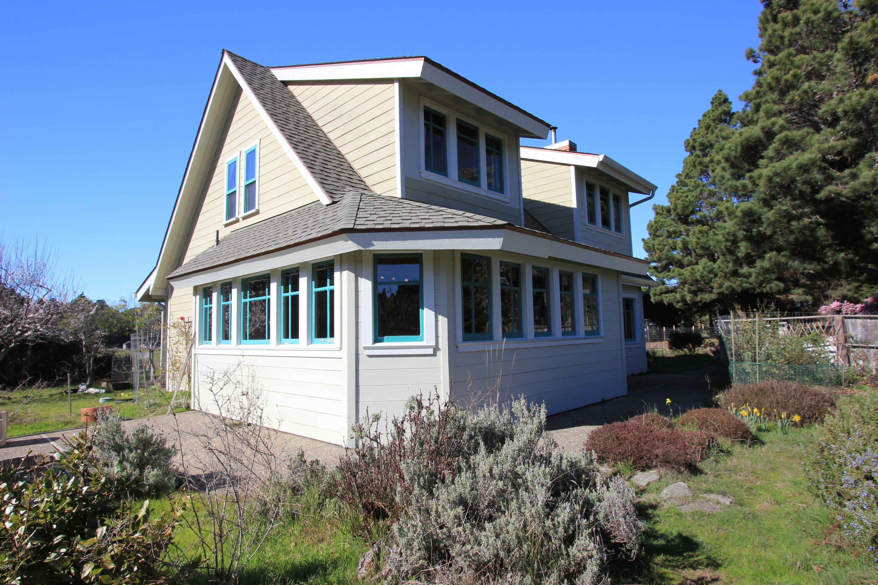 Wonderful location on enough acreage for animals and gardening close to the ocean and Belinda Point Trail. This classic farmhouse has plenty of room for family upstairs and down. Peekaboo Bluewater ocean views can be had upstairs. This home has provided its family decades of happy memories and is ready for its new owners. New roof done in 2018
