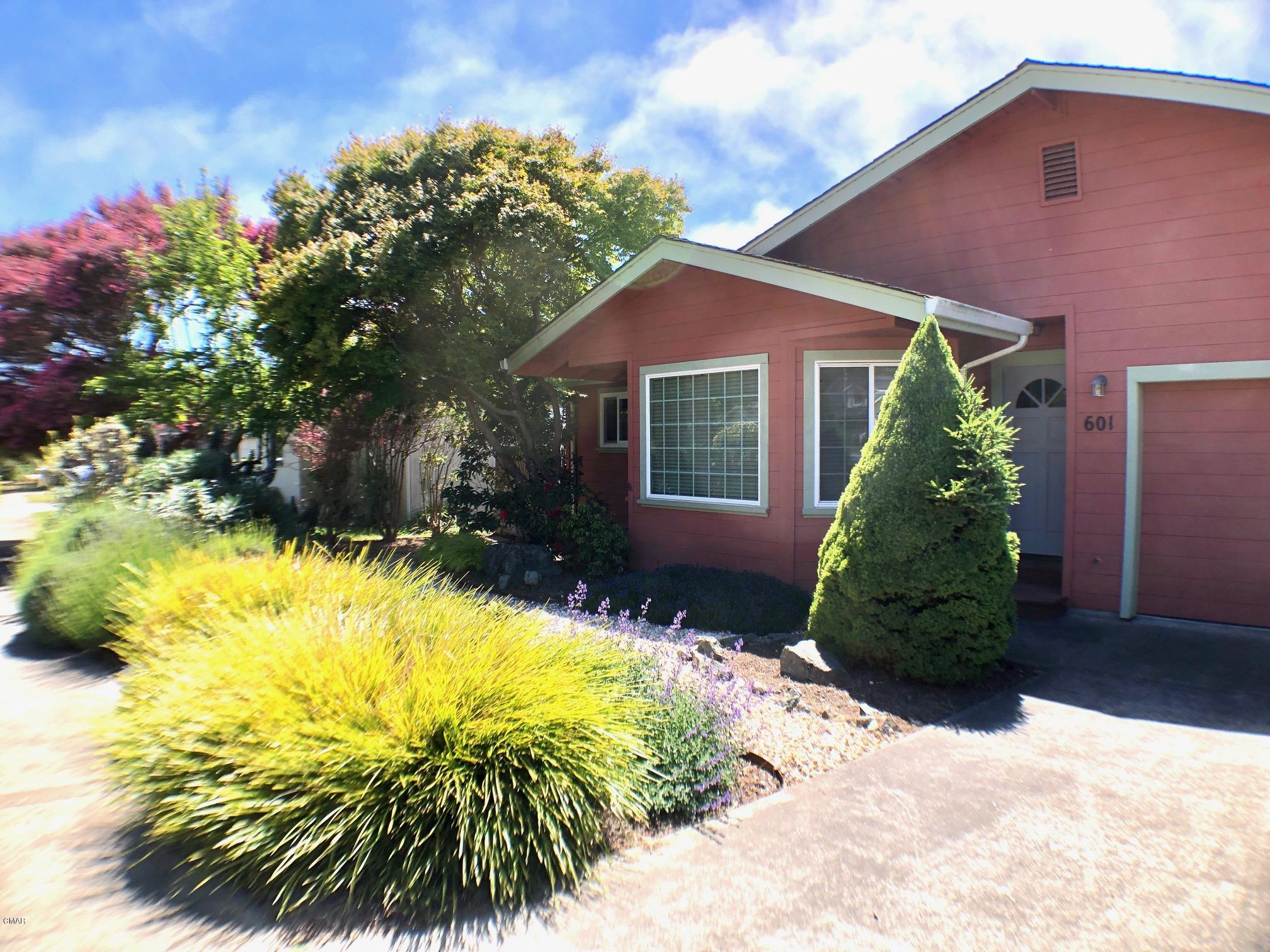 Imagine yourself living in this spacious 3 bed 2bath home in a low density area on the Mendocino coast. Close to school, near cul-de-sac, and in a quiet neighborhood with good private back yard. House has all dual pane windows, new deep double stainless sinks & dish washer in kitchen, a wood-stove in the living room, and an additional electric heater to add ambience to the master bedroom, in addition to a propane furnace. Both master bedroom and dining area have patio doors leading to the beautifully landscaped back yard, with great privacy that is provided by a mature Japanese maple etc. The house has an attached two-car garage with the interior sheet rocked. It has a newer furnace, a new water heater, a newer garage door opener. Priced to sell As-Is with 1 year AHS home warranty.