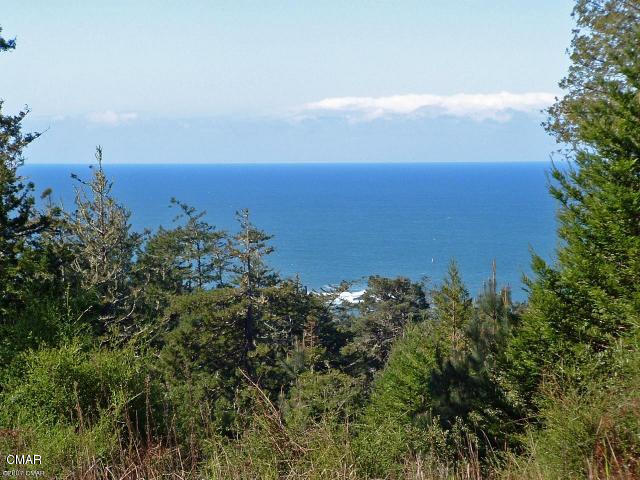 Feel like you are on top of the world from this 10 acre parcel that offers an extraordinary view of the Pacific Ocean from the home site. Located in the Gold Coast of Little River, this rare offering is LOCATED IN A COASTAL EXCLUSION ZONE even though it is in the coastal zone, which helps ease the development process. The property also has a cleared house site with stunning views, drilled well, septic evaluation(will need to be updated), and a partially paved, partially asphalt chipped sealed road. There is also a delightful pond on the property. This is a property that has all the best of living on the coast, redwoods, ocean views, conveniently located near services, schools, & restaurants.