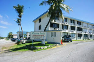 two separate buildings with a total of 100 condominium units. Walking distance to the University of Guam, Guam Community College and George Washington High School. There's a nearby football/track field for daily exercising too.