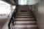 Stairway to downstairs units