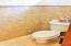 Private master bathroom toilet room