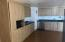 Open plan kitchen - plenty of drawers/cabinets