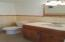 Half bath on first floor