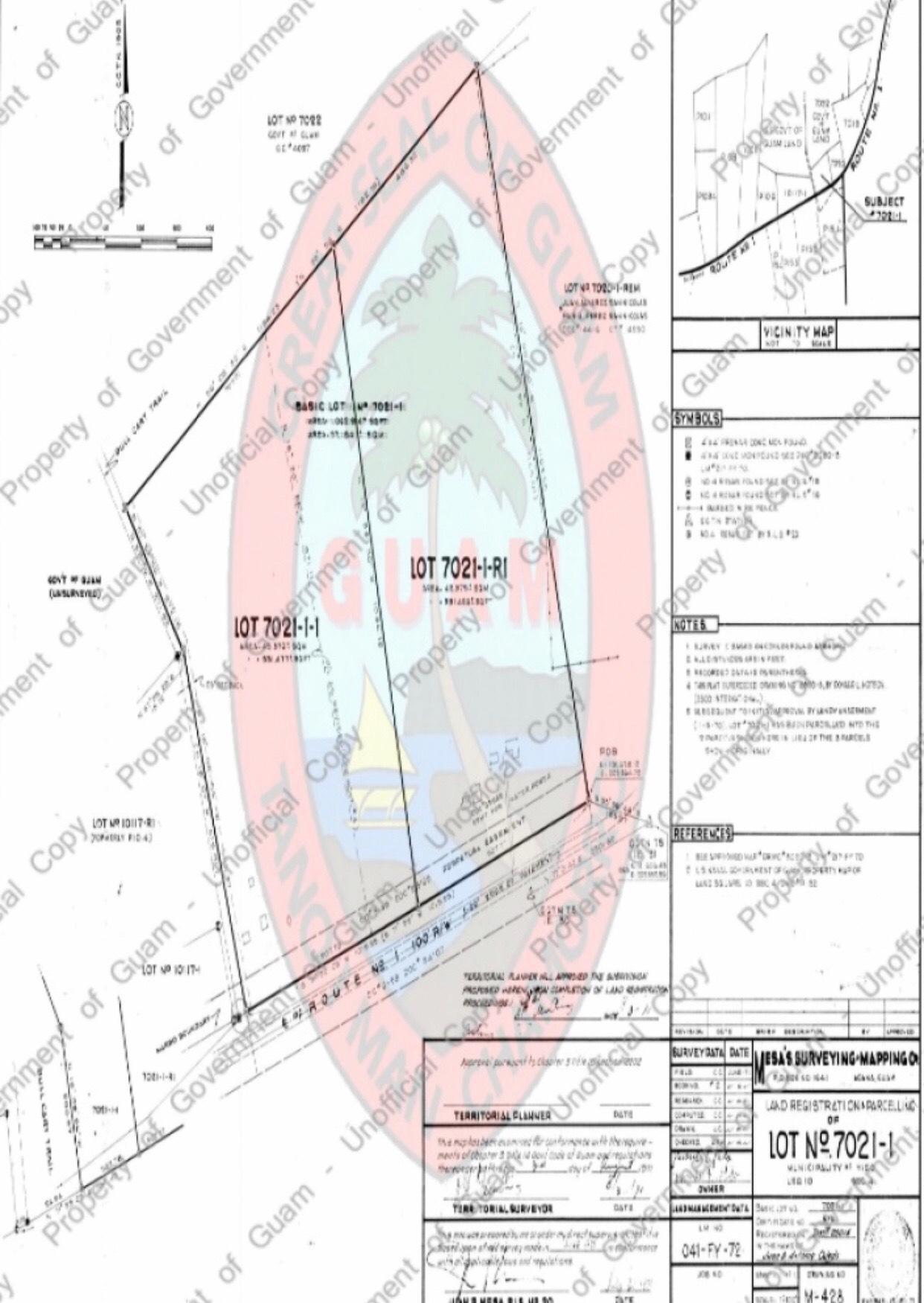 LOT 7021-1-R-1/LOT 5 Tract 264, Yigo, GU 96929