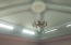 Pitched ceiling with sky light