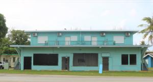 Road front commercial space in Agat