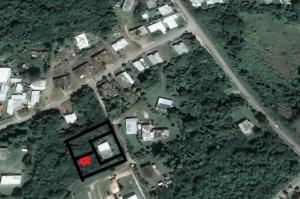 Aerial view of lot location