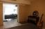 Sliding door to living room