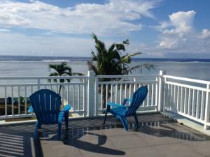 Ocean front balcony