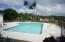 Covered cabana adjacent to pool+playground