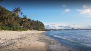 A portion of Faifai Beach, Tamuning, GU 96913