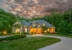 Beautiful home on 31 private acres in the middle of Signal Mountain.