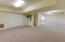 Lower level space is perfect for Yoga, exercise room, media or just the kid play room.